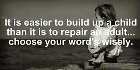easier to build up children